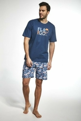 Cornette 32670 flamingo jeans piżama męska
