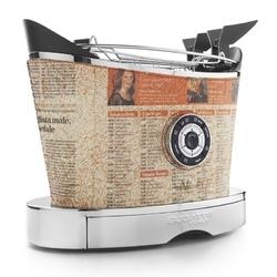 Casa bugatti - toster volo pokryty skórą - wzór gazeta