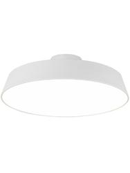 Lampa sufitowa orlando satynowy biały 40 - biały