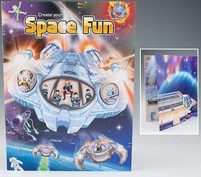 Zestaw kreatywny z naklejkami space fun top model kosmos 4793