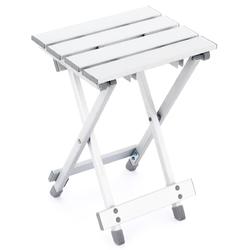 Składany stołek taboret aluminiowy 25x30x41 cm + torba