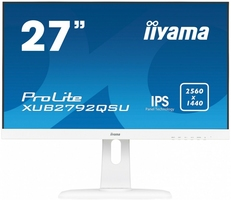 IIYAMA 27 XUB2792QSU-W1 IPS,WQHD,PIVOT,HDMI,DP,USB, BIALY.