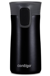 Kubek termiczny contigo pinnacle 300ml - matte black - czarny