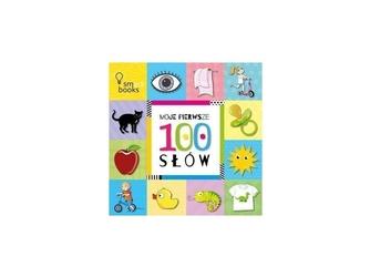 Moje pierwsze 100 słów książeczka dla maluszka