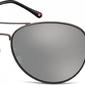 Czarne aviatory okulary lustrzanki ms95h