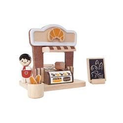 Piekarnia zestaw drewnianych figurek