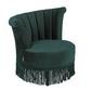 Dutchbone :: fotel tapicerowany flair zielony