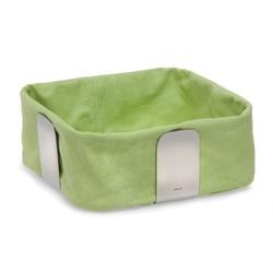 Blomus desa - koszyk na pieczowo - duży - zielony - 10,5 x 25,5 x 25,5 cm
