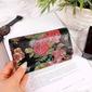 Skórzany portfel damski w kwiaty paolo peruzzi