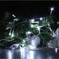 Lampki joylight świąteczne 20 led białe zimne na baterie 3m