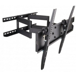 Techly Uchwyt ścienny LCDLED 42-70cali regulowany, 70kg, czarny