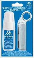 Zestaw do czyszczenia soczewek w okularach 3 elementowy