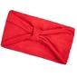Opaska do włosów turban bandamka czerwona węzeł