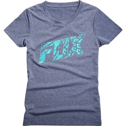 Koszulka t-shirt  fox lady bonnie heather graphite