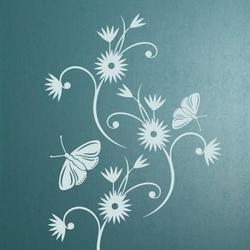 Kwiaty 895 naklejka