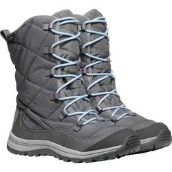 Śniegowce damskie keen terradora lace boot wp - szary