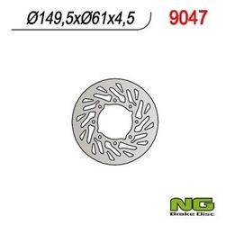 Ng9047 tarcza hamulcowa polaris 400500 01-02 turbina