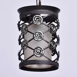 Antyczna lampa wisząca z kutego żelaza chiaro 382016401