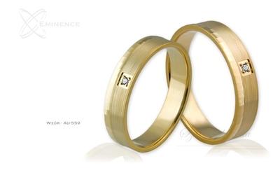 Obrączki ślubne - wzór au-559