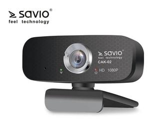 Elmak kamera internetowa usb full hd savio cak-02