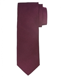 Bordowy jedwabny krawat profuomo