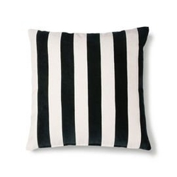 Hkliving :: poduszka velvet czarna szer. 50