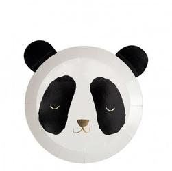 Meri meri - talerzyki panda