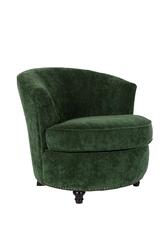 Dutchbone fotel freux zielony 3100048