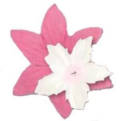 Zestaw papierowych kwiatuszków - 80 sztuk - BIRÓ