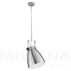 Studio lampa wisząca 1 chrom