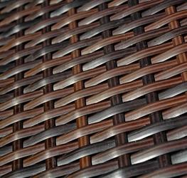 Stolik ogrodowy colimo iii brązowy