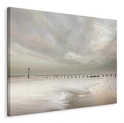 And beyond the shore - obraz na płótnie