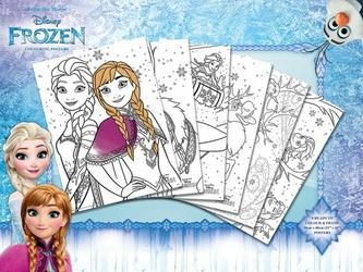 Disney Frozen Elsa i Anna - plakaty do kolorowania