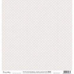 Ozdobny papier 30,5x30,5 cm - brązowy - BRĄZ