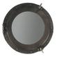 Authentic models :: duże lustro z brązową obwódką