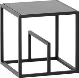 Regał modułowy text single set metal czarny