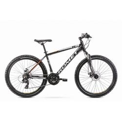 Rower górski romet rambler r6.2 26 2020, kolor czarny, rozmiar 14