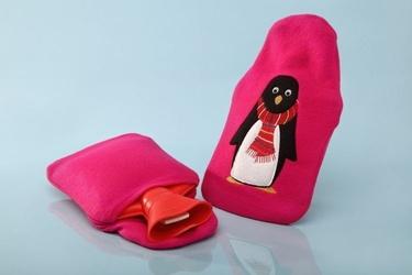 Termofor gum-med w pokrowcu 0,7l pingwin