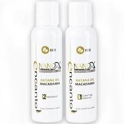 Encanto do brasil nanox 2x 473ml zestaw bez formaldehydu