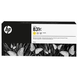 Hp 831c wkład atramentowy latex 775 ml, żółty