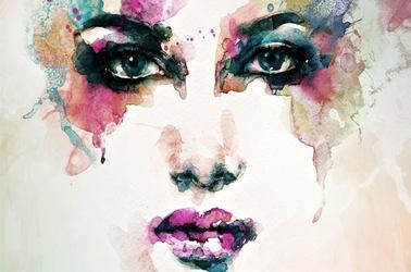 Kobieta - plakat wymiar do wyboru: 100x70 cm