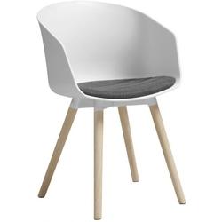 Krzesło moonlight  białeszare