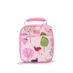 Lunchbox szkolny, ptaszki, różowy, penny scallan