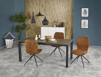 Stół rozkładany horizon 120-180x85cm popiel