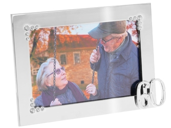 Ramka zdjęcie 10x15 prezent 60 rocznica urodziny grawer