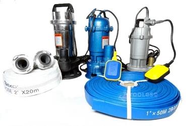 Pompa do wody szamba z rozdrabniaczem pływak 2950w geko