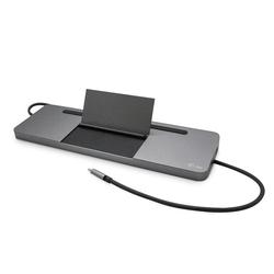 I-tec stacja dokująca usb-c metal ergonomic 4k 3x display docking station power delivery 85 w