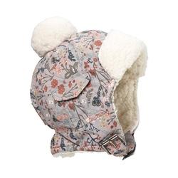 Czapka zimowa 1-2 lata, vintage flower, elodie details