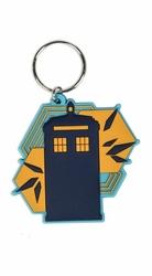 Doctor Who Tardis Shapes - brelok