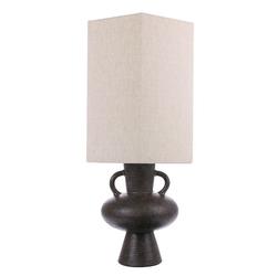 Hkliving podstawa do lampy stołowej rozmiar l grafitowa vol5031
